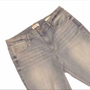 Sz 12/31 Jessica Simpson Relaxed Skinny Crop Jeans